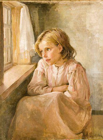 352px-Rzsevskaya_Antonina_Girl_at_the_window